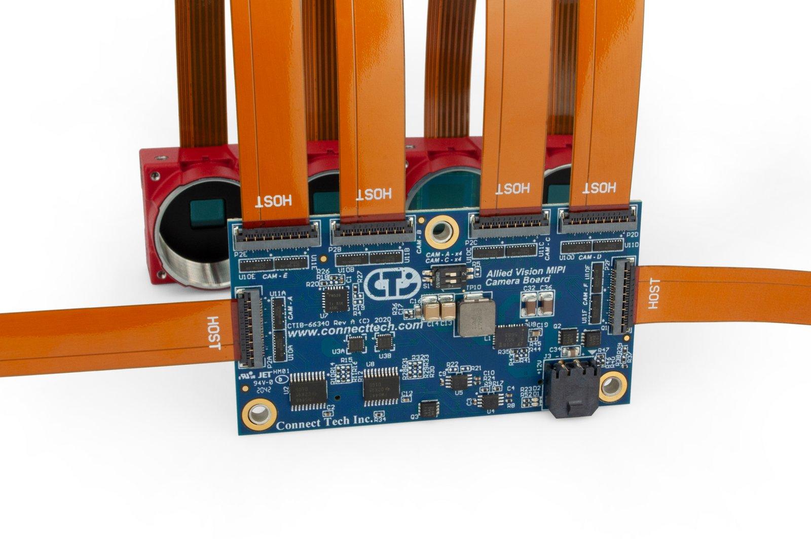 Allied Vision MIPI Camera Board for NVIDIA Jetson AGX Xavier
