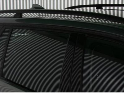 By observing the reflection of a pattern on the vehicle's surface , even the smallest surface errors can be reliably detected.
