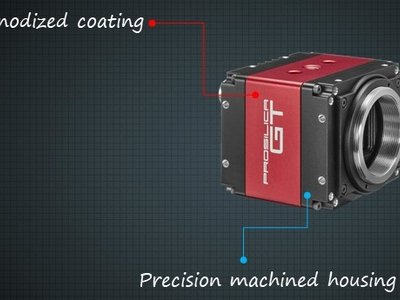Precision machined housing with premium anodized coating
