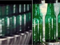Bottles without (left) and with (right) Speedview