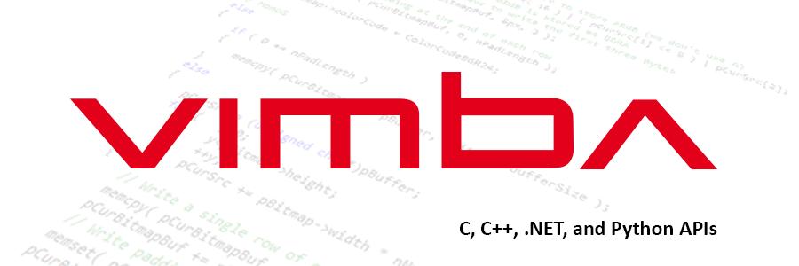 Vimba - C, C++, Python APIs