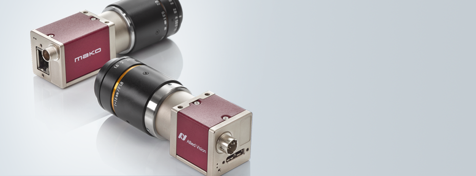 CMOS machine vision cameras by Allied Vision