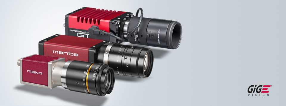 GigE Vision cameras by Allied Vision