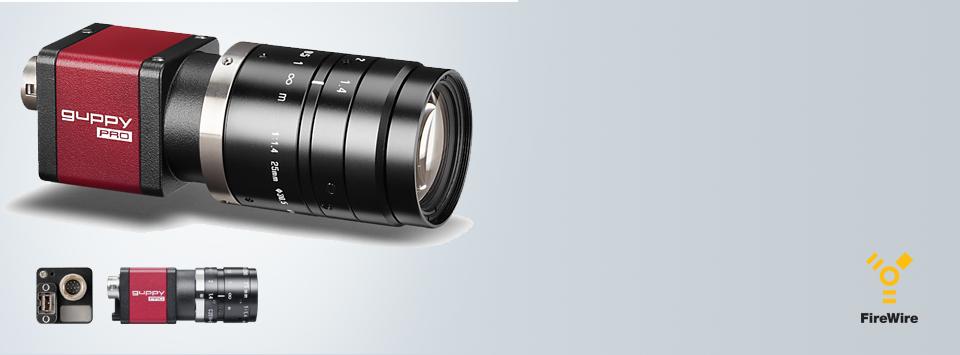 Guppy PRO: Ultra-compact Firewire (1394B) camera